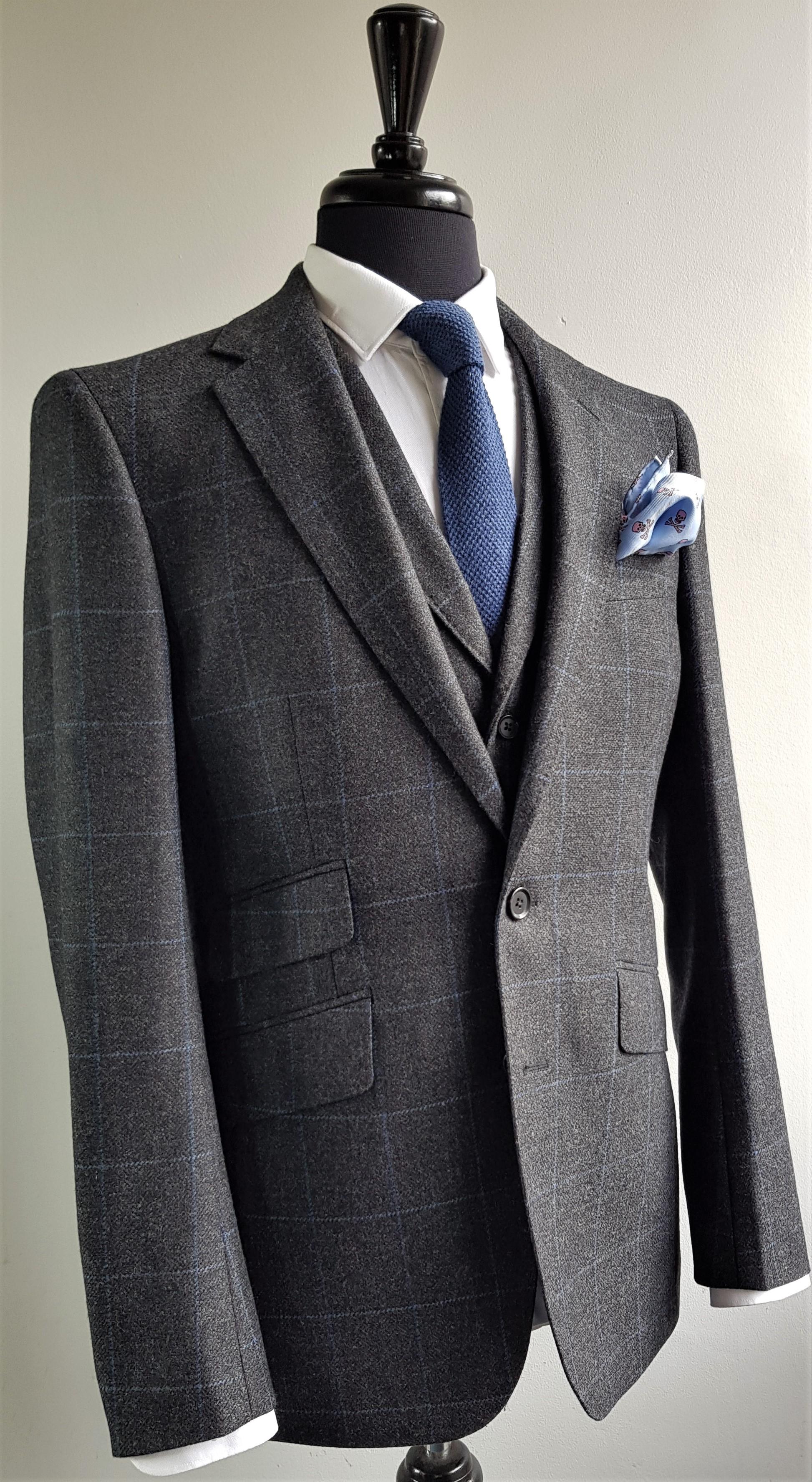 Grey Blue 3 Piece Tweed Suit (9).jpg