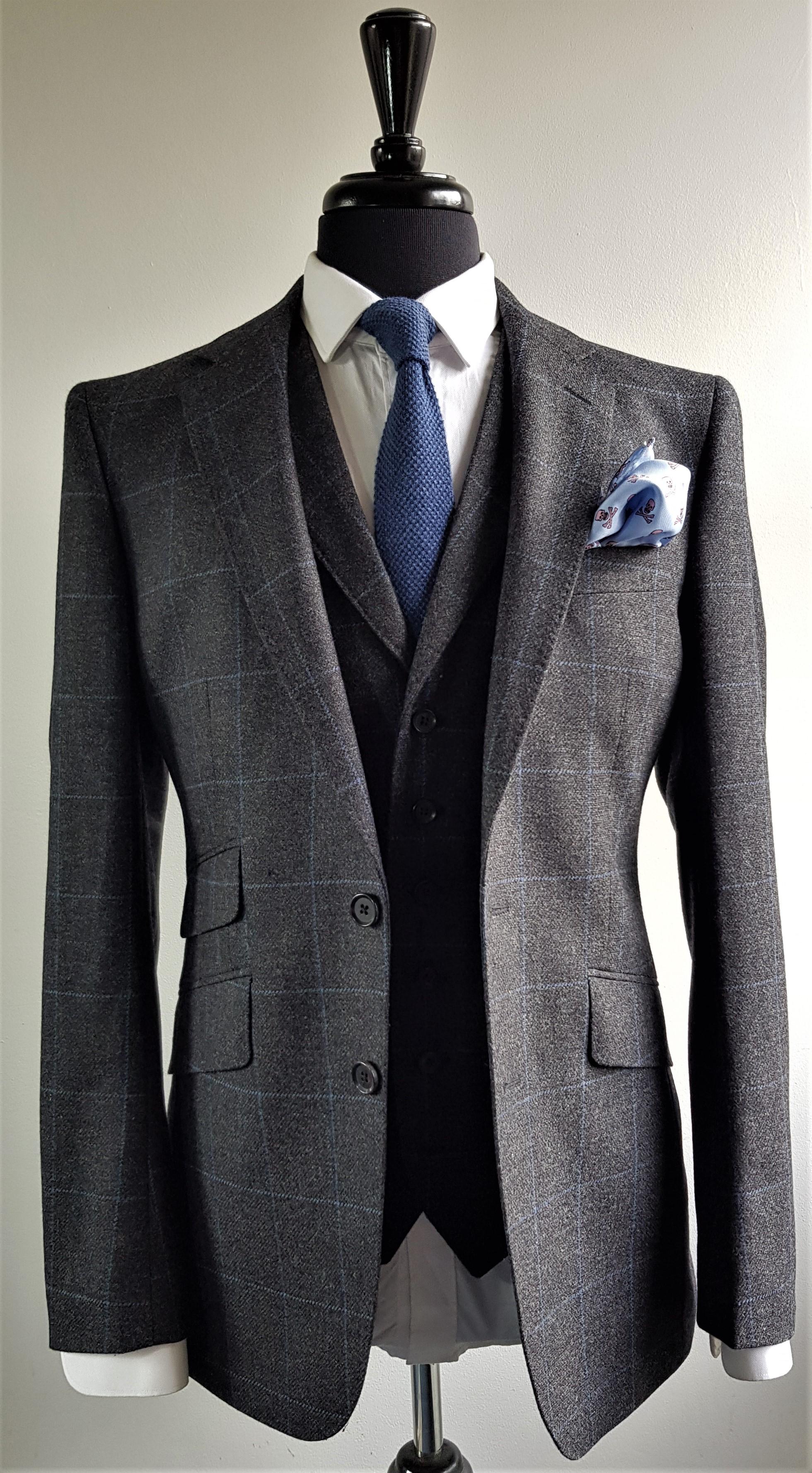 Grey Blue 3 Piece Tweed Suit (11).jpg