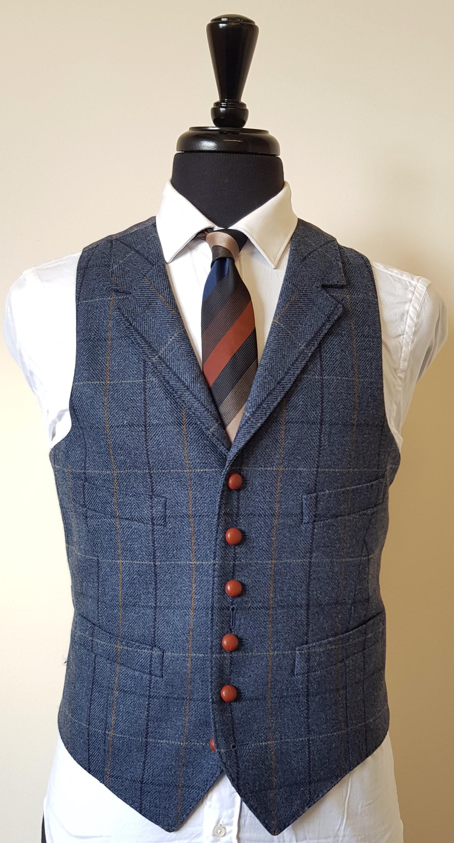 3 piece blue check tweed suit (2).jpg