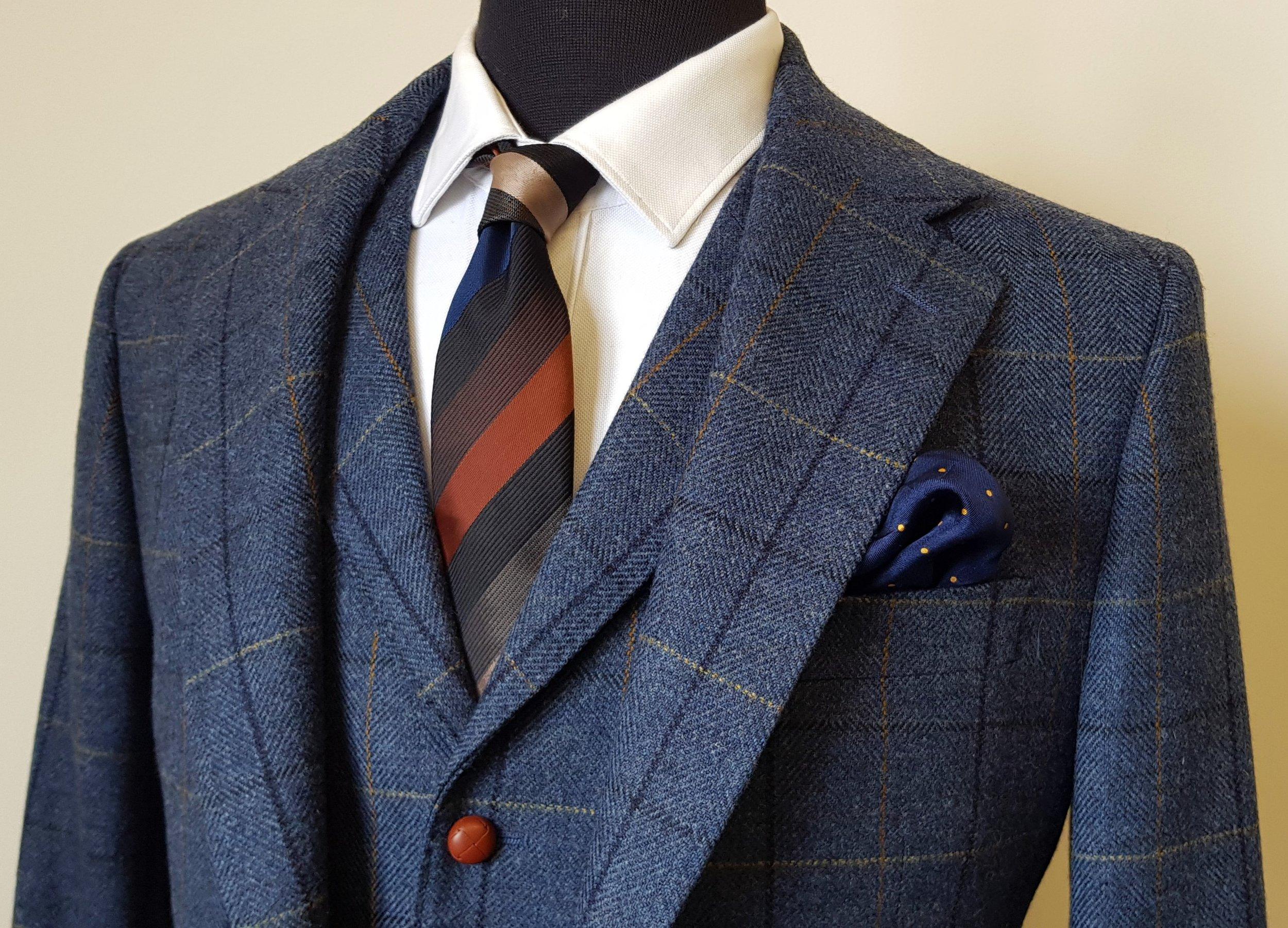 3 piece tweed suit blue check (3).jpg