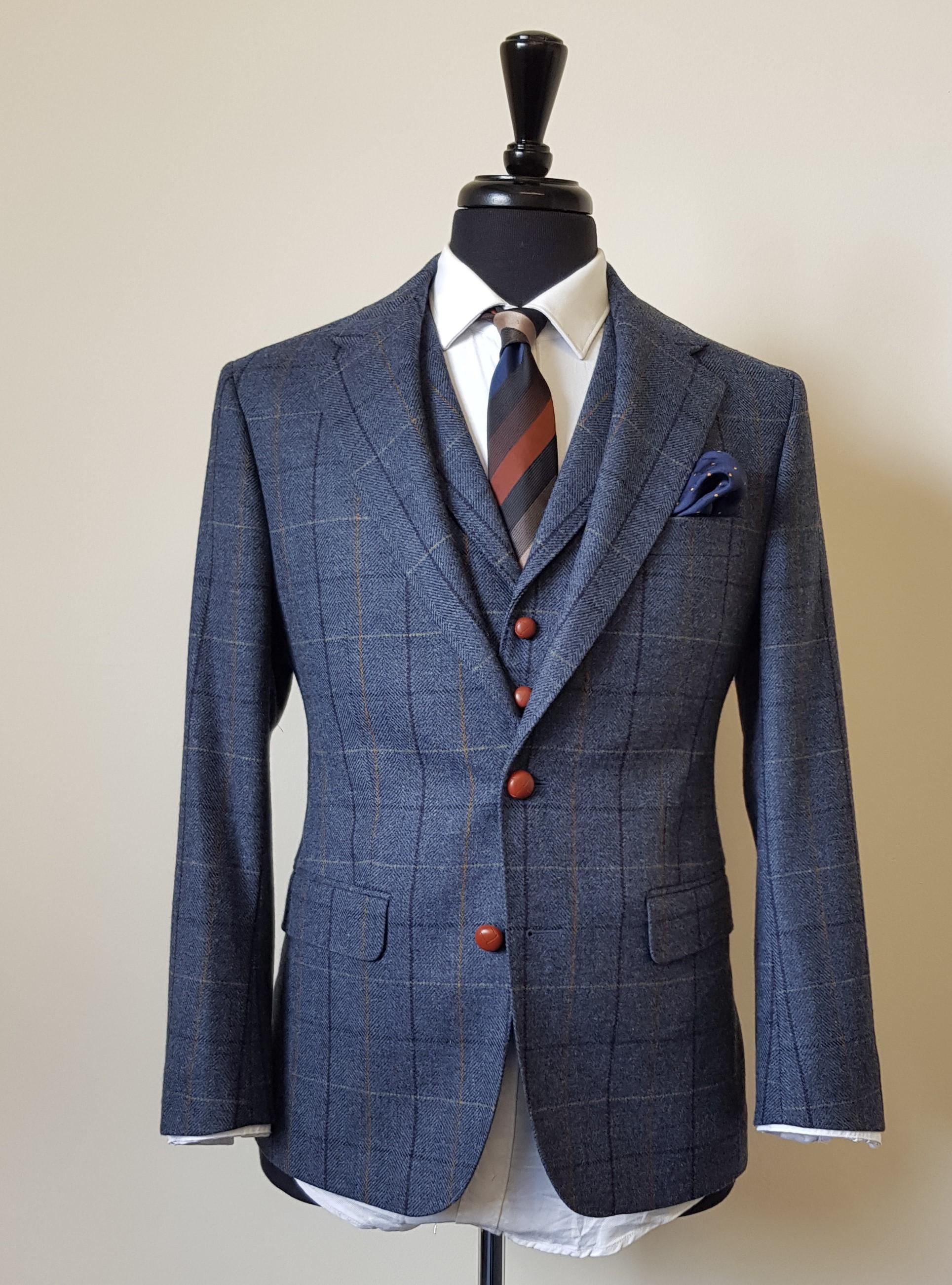 3 piece tweed suit blue check (5).jpg