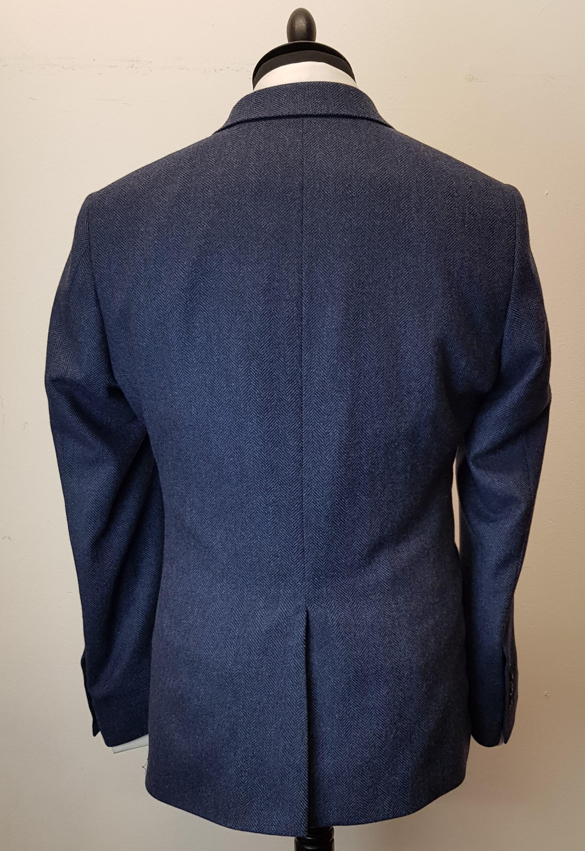3 piece tweed suit in blue herringbone extra fine merino (8).jpg
