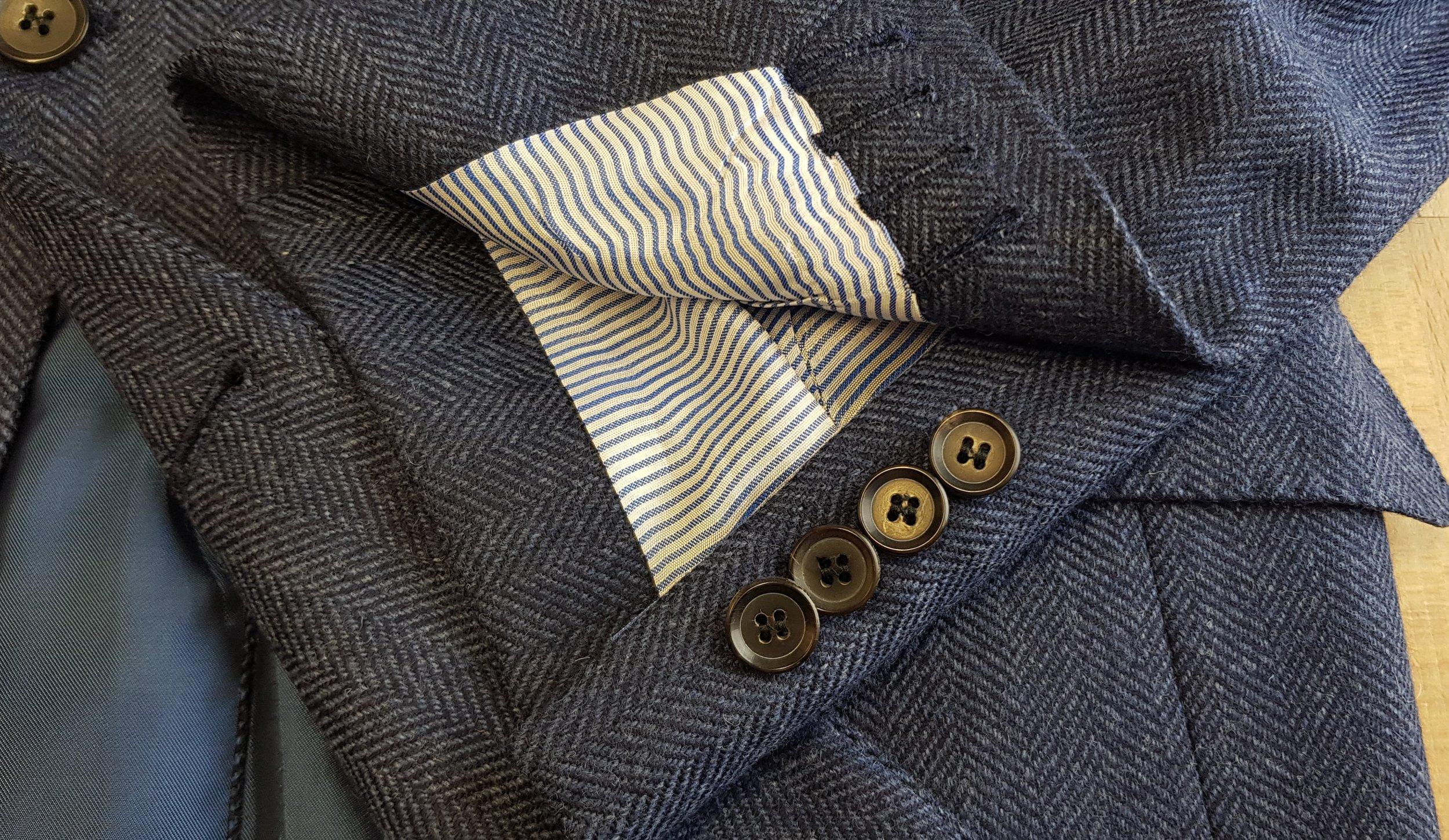 3 piece tweed suit in blue herringbone extra fine merino (12).jpg
