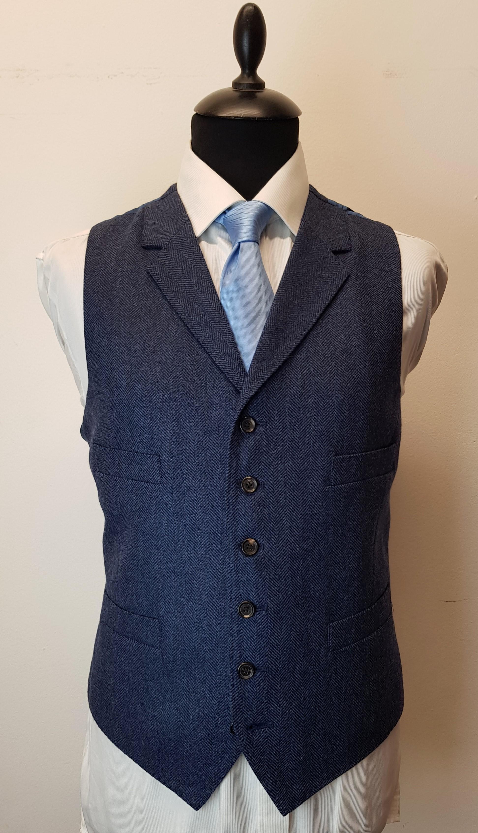3 piece tweed suit in blue herringbone extra fine merino (13).jpg