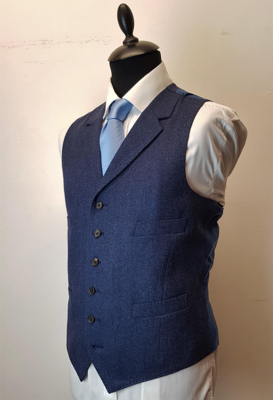 3 piece tweed suit in blue herringbone extra fine merino (14).jpg