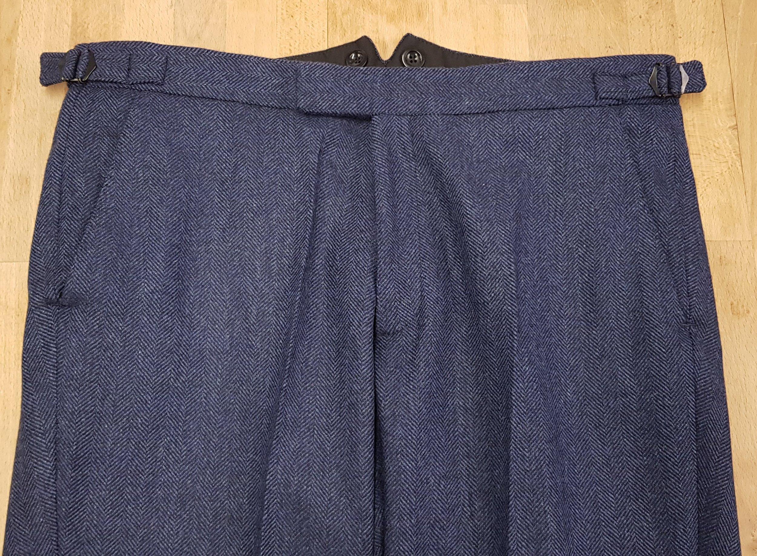 3 piece tweed suit in blue herringbone extra fine merino (16).jpg