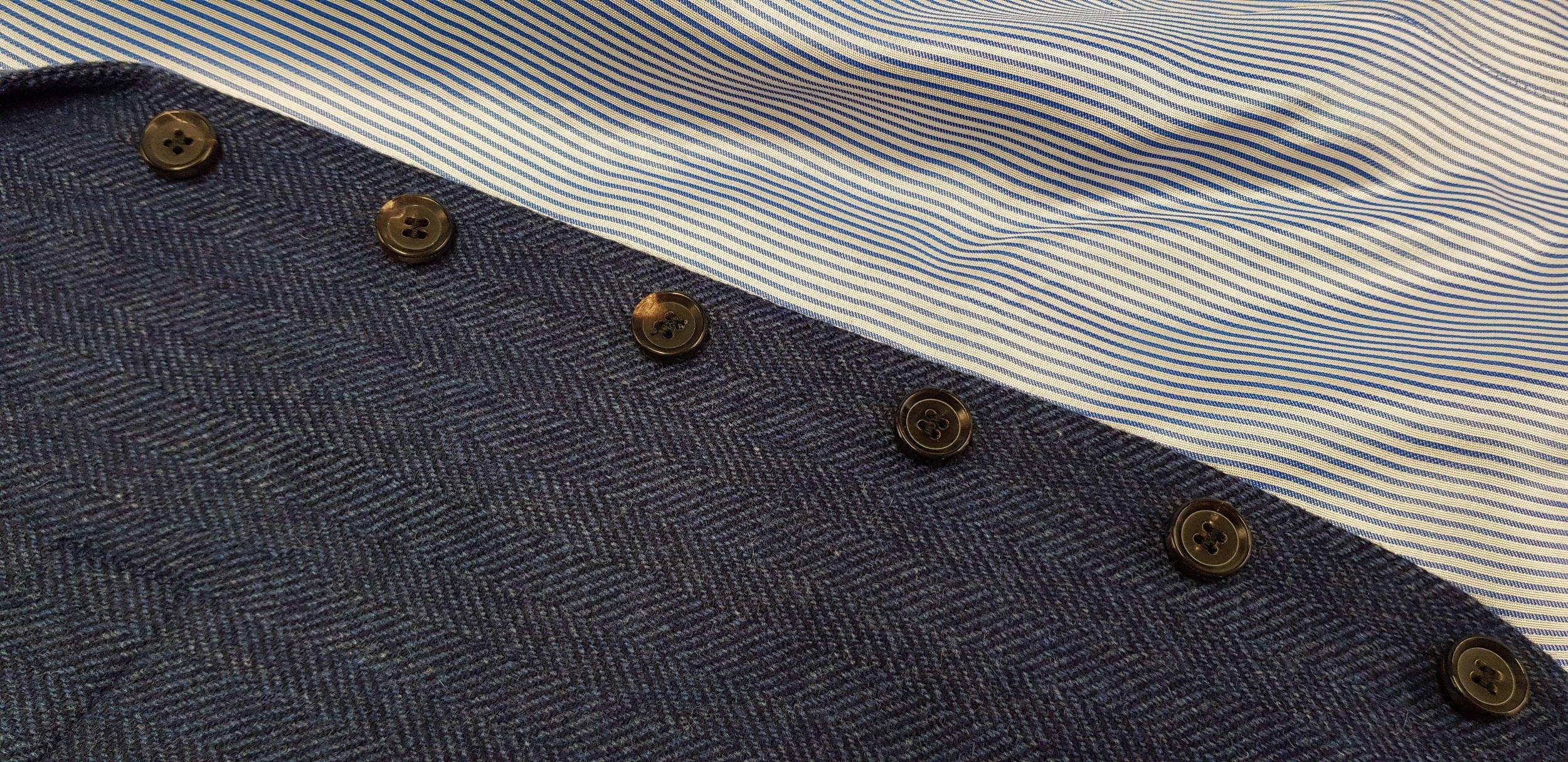 3 piece tweed suit in blue herringbone extra fine merino (15).jpg