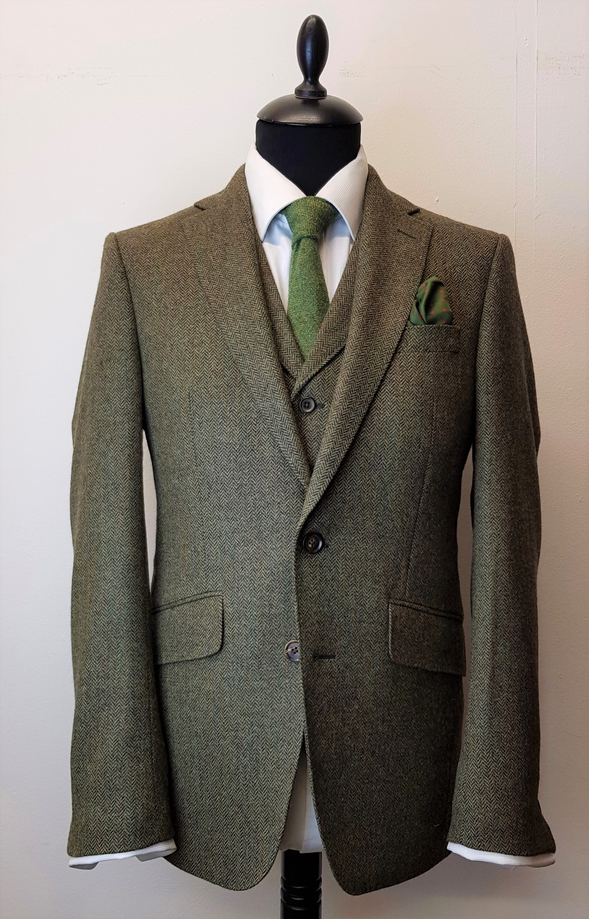 3 piece tweed suit in green herringbone (6).jpg