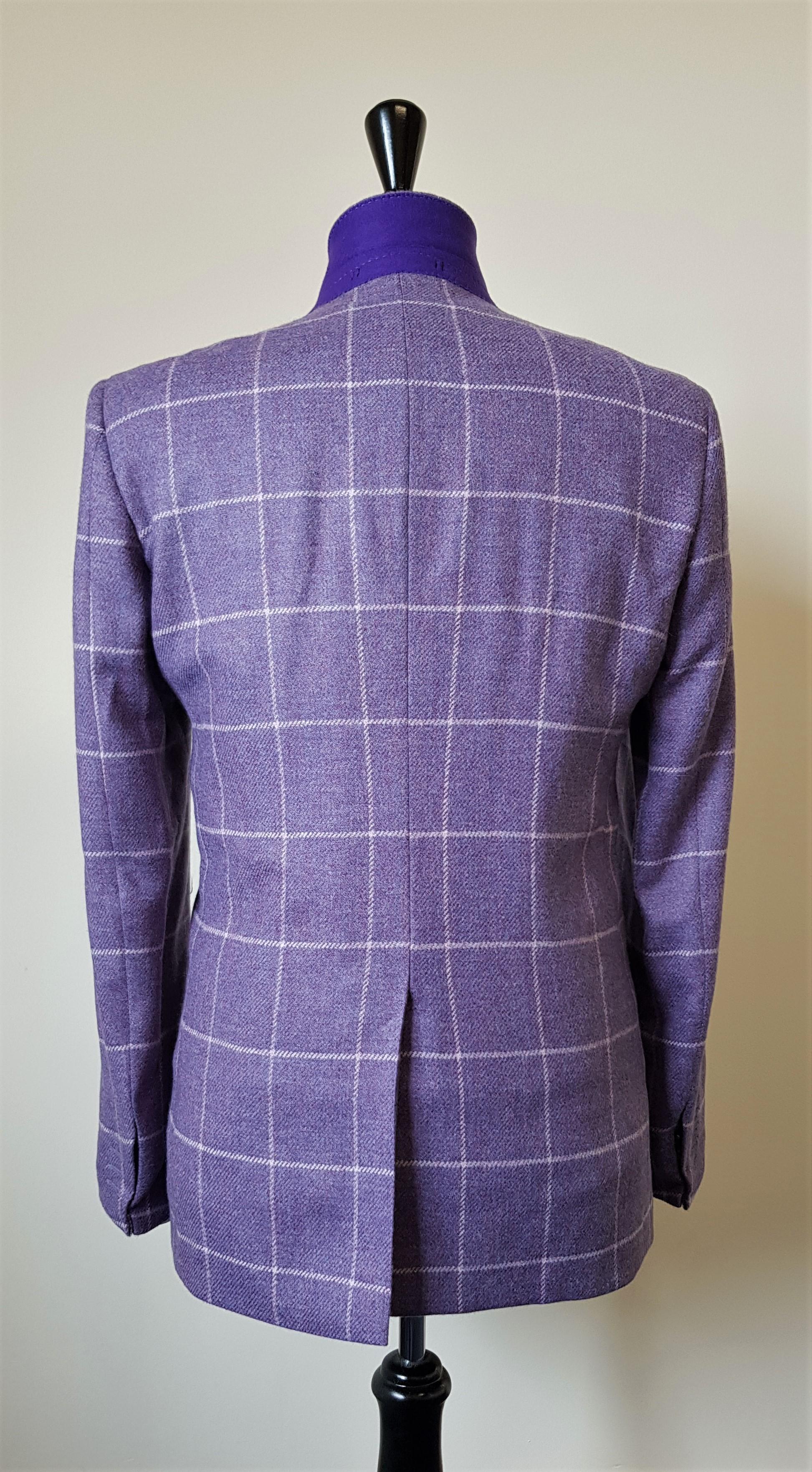 3 Piece Purple Check Tweed Suit (11).jpg