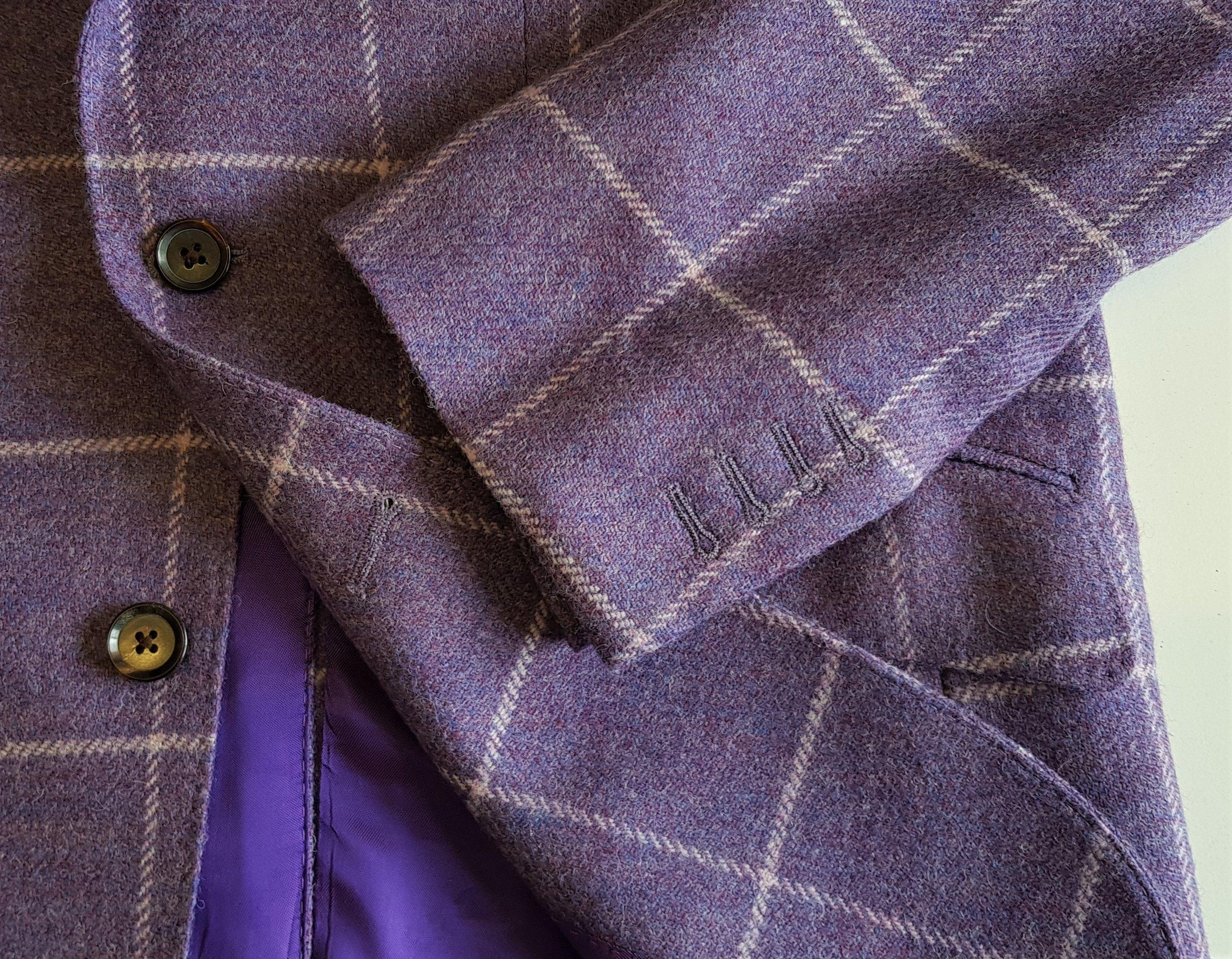 3 Piece Purple Check Tweed Suit (14).jpg
