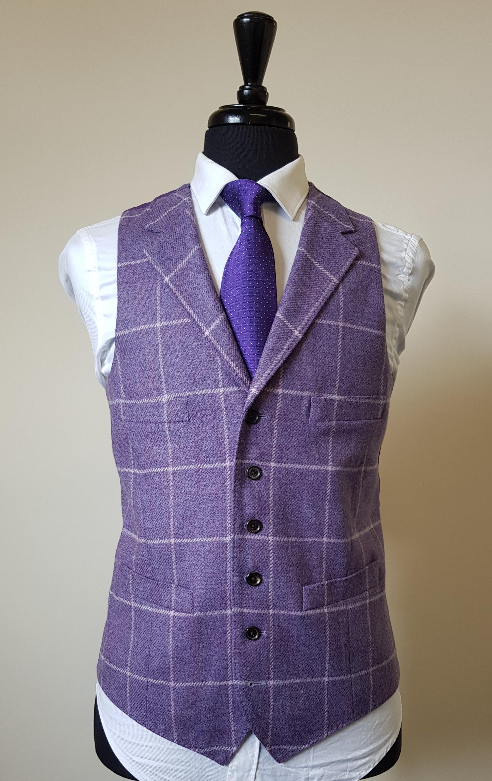 3 Piece Purple Check Tweed Suit (17).jpg