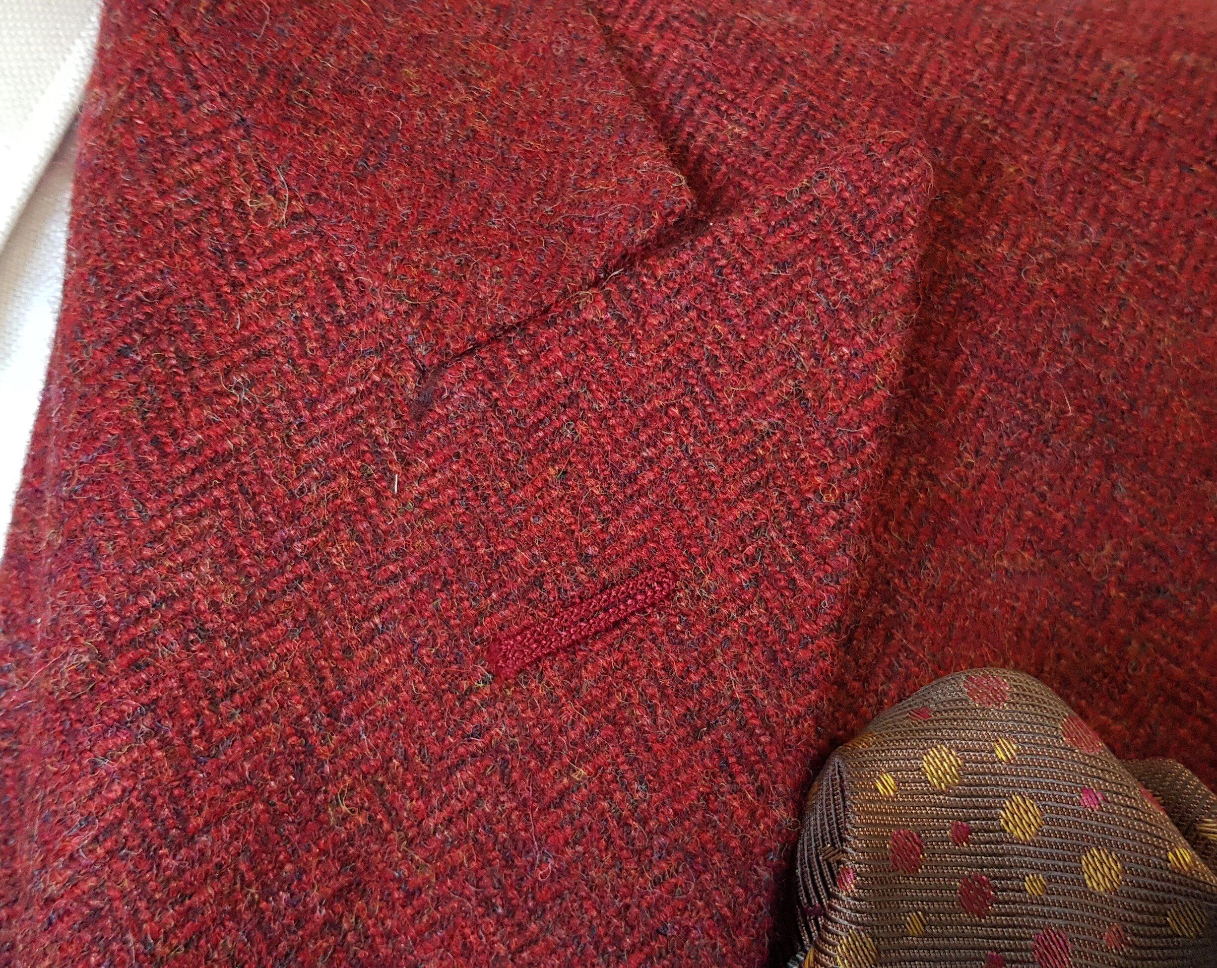 Raspberry Herringbone 3 Piece Tweed Suit (8).jpg