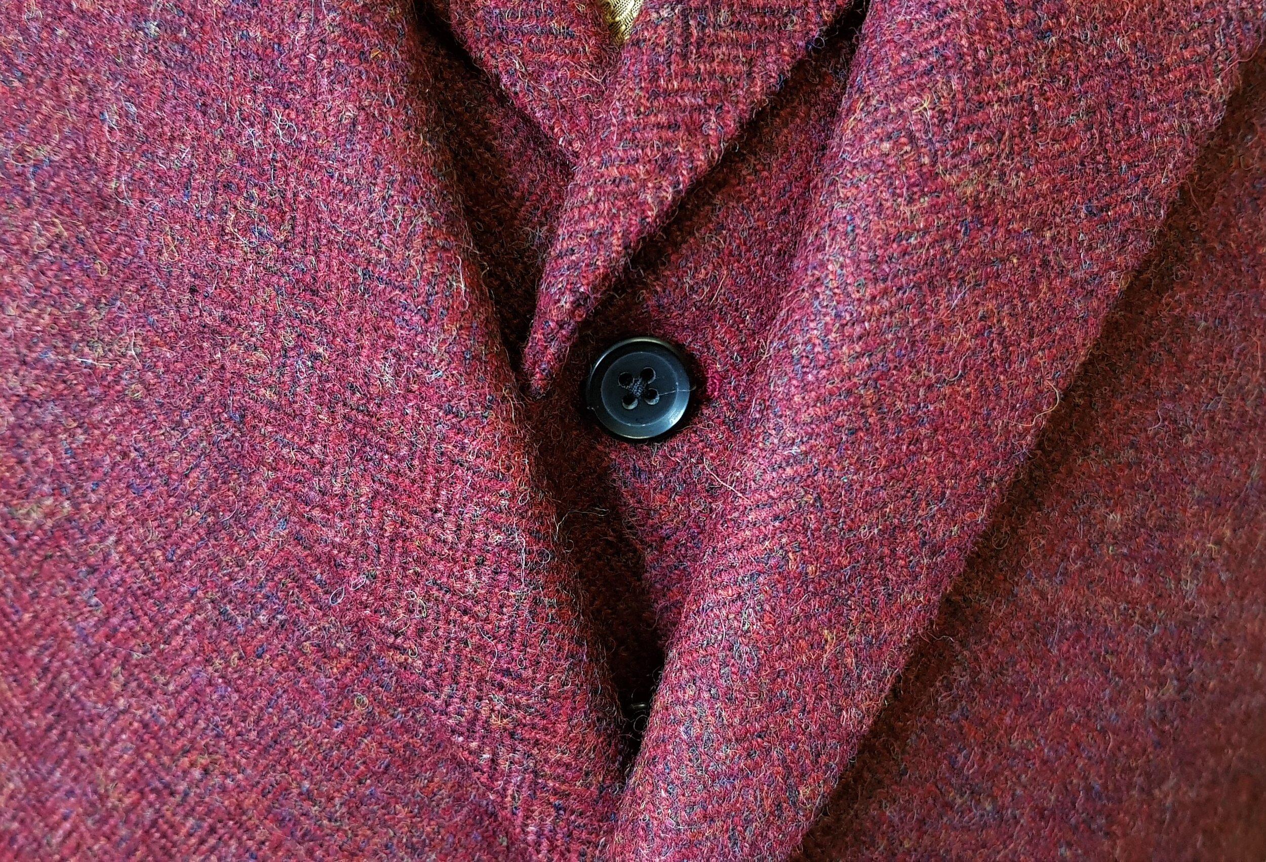 Raspberry Herringbone 3 Piece Tweed Suit (10).jpg
