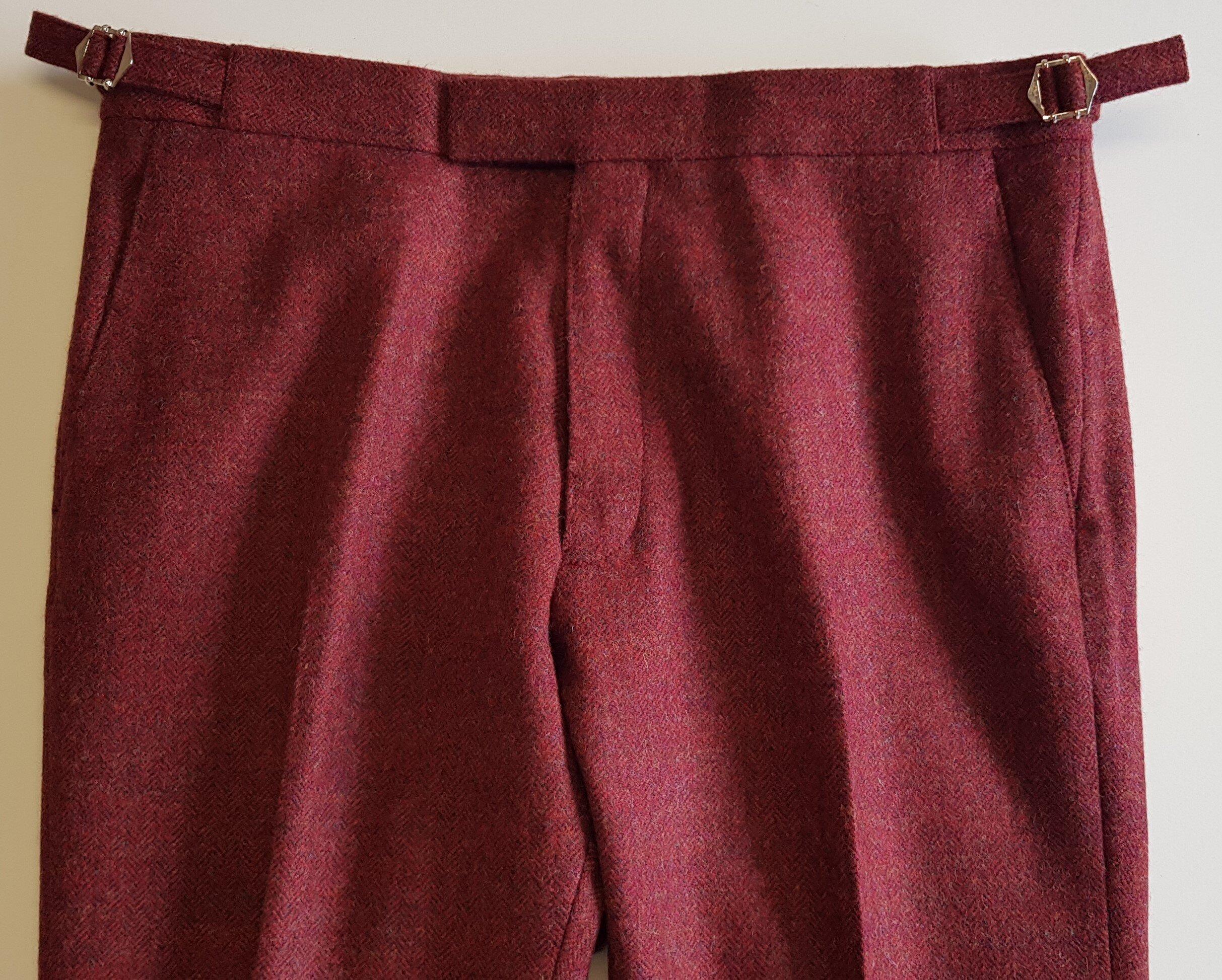 Raspberry Herringbone 3 Piece Tweed Suit (12).jpg