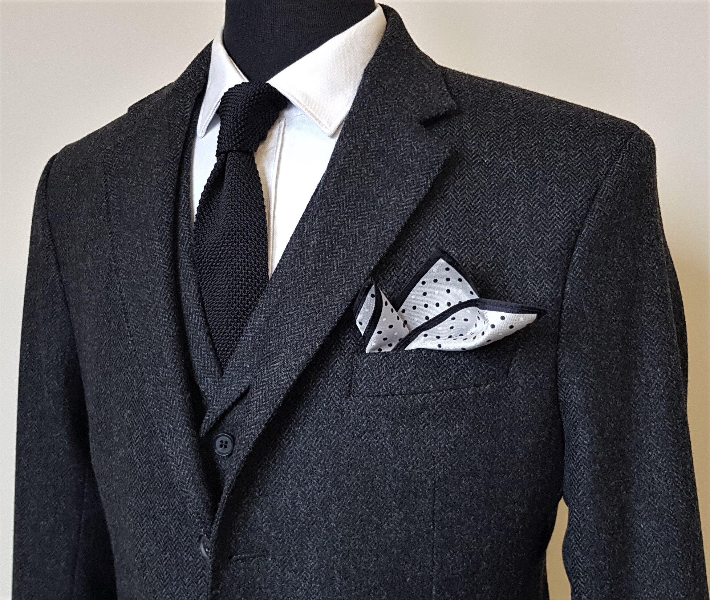 Charcoal Herringbone 3 piece Tweed Suit (7).jpg