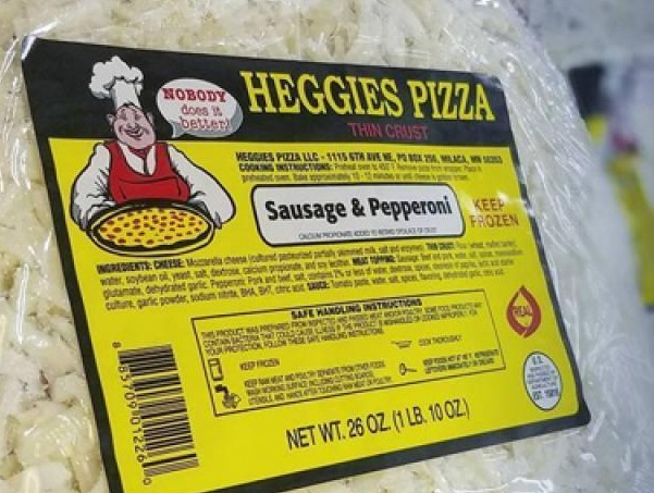 Now serving Heggies Pizza! - What goes better with a high quality craft beer than pizza? We're proud to serve Heggies Pizza at our taproom, along with many other locally made snacks!