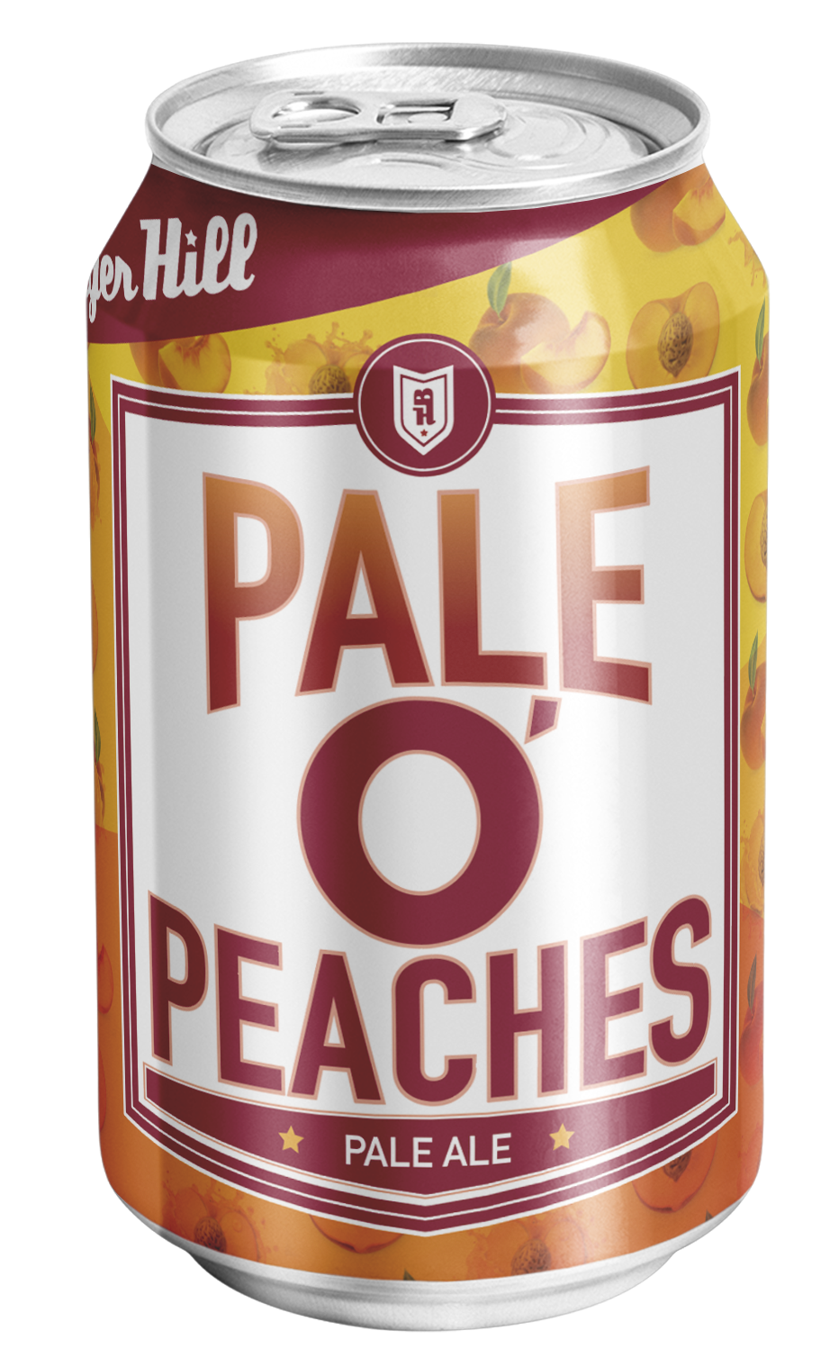 Pale O' Peaches Pale ALe - 5.3% ABV * 40 IBUPale O' Peaches Pale Ale is a juicy pale ale that's pairs well with warmer weather and sunny days. The perfect post-yard work brew that's not too sweet and highly refreshing. It's infused with real peach puree and you can find it on tap, in 6-packs and our Spring Mixed Pack on your favorite liquor store shelf.Hops: CTZ, Cascade, Citra, MosaicMalt: 2-Row, Carafoam, Munich INotes of citrus, made with real peachPairs with fish tacos, pad thai and tangy cheeseAVAILABLE: 4/6 packs, Spring Mixed 12-pack, 1/2bbl, 1/6bbl