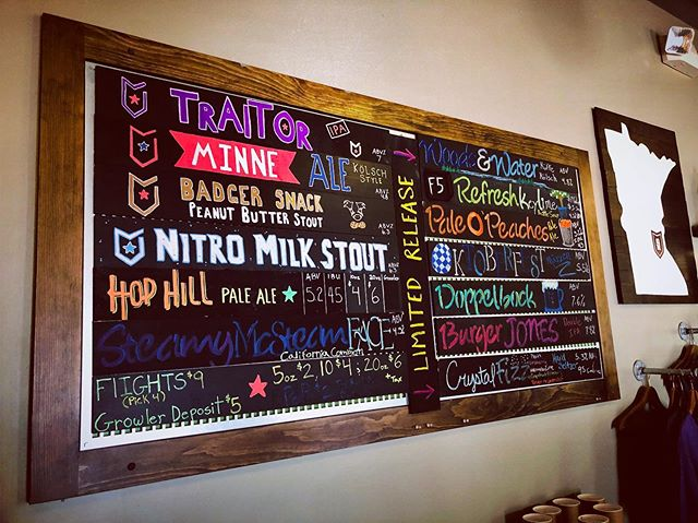 We open at 3pm today! Stop in and try some of our latest creations: Burger Jones DIPA and BH Doppelbock are the perfect beers for fall time!