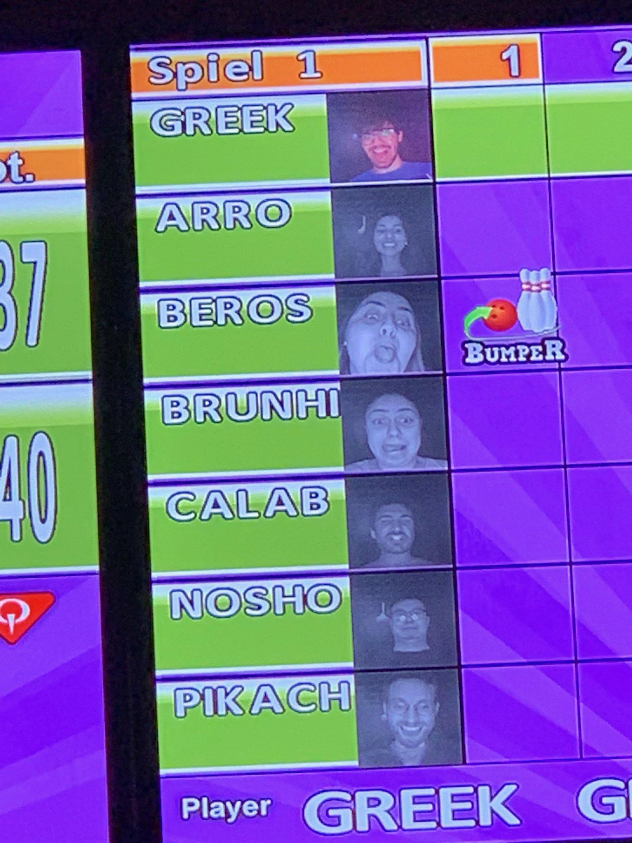 Lab bowling.JPG