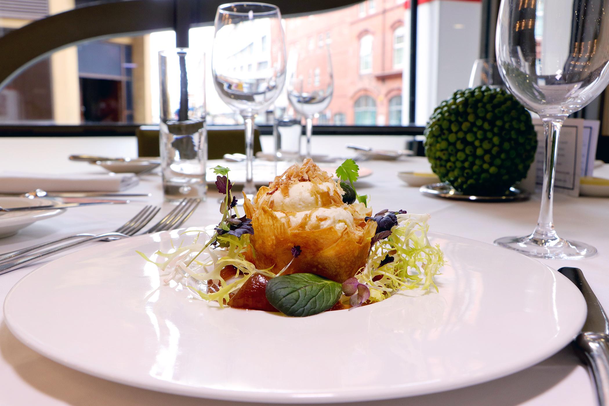 Opus Restaurant - Goat Cheese Tart.jpg