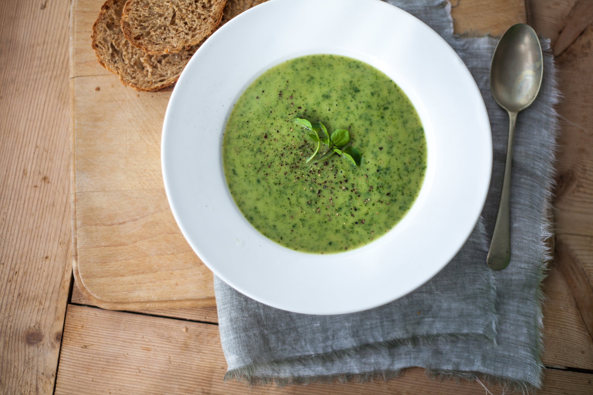 Soup Season-Watercress Soup Recipes From Around The World -