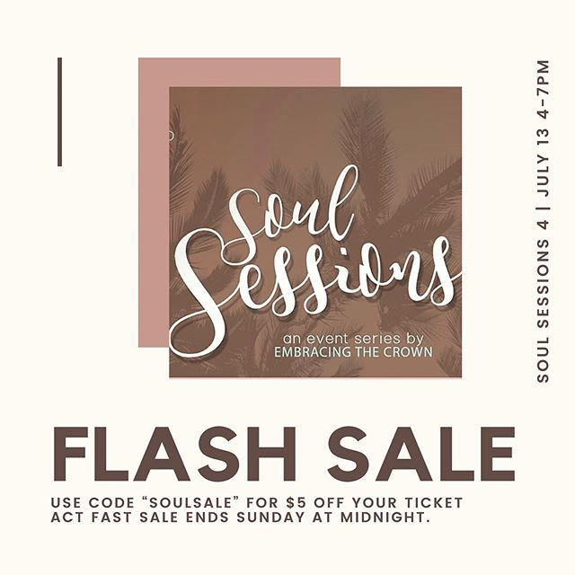 🗣READY, SET, GOOOO  Our flash sale has officially begun. Get those tickets we're officially 1 week away.