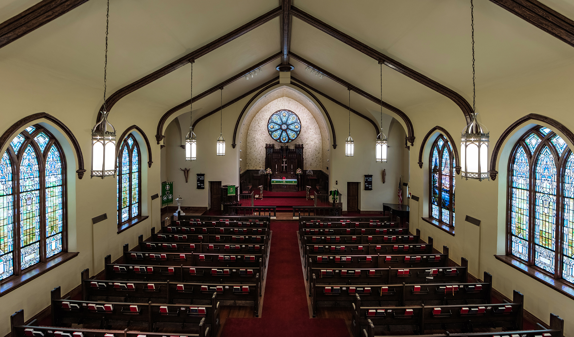 sanctuary from choir loft
