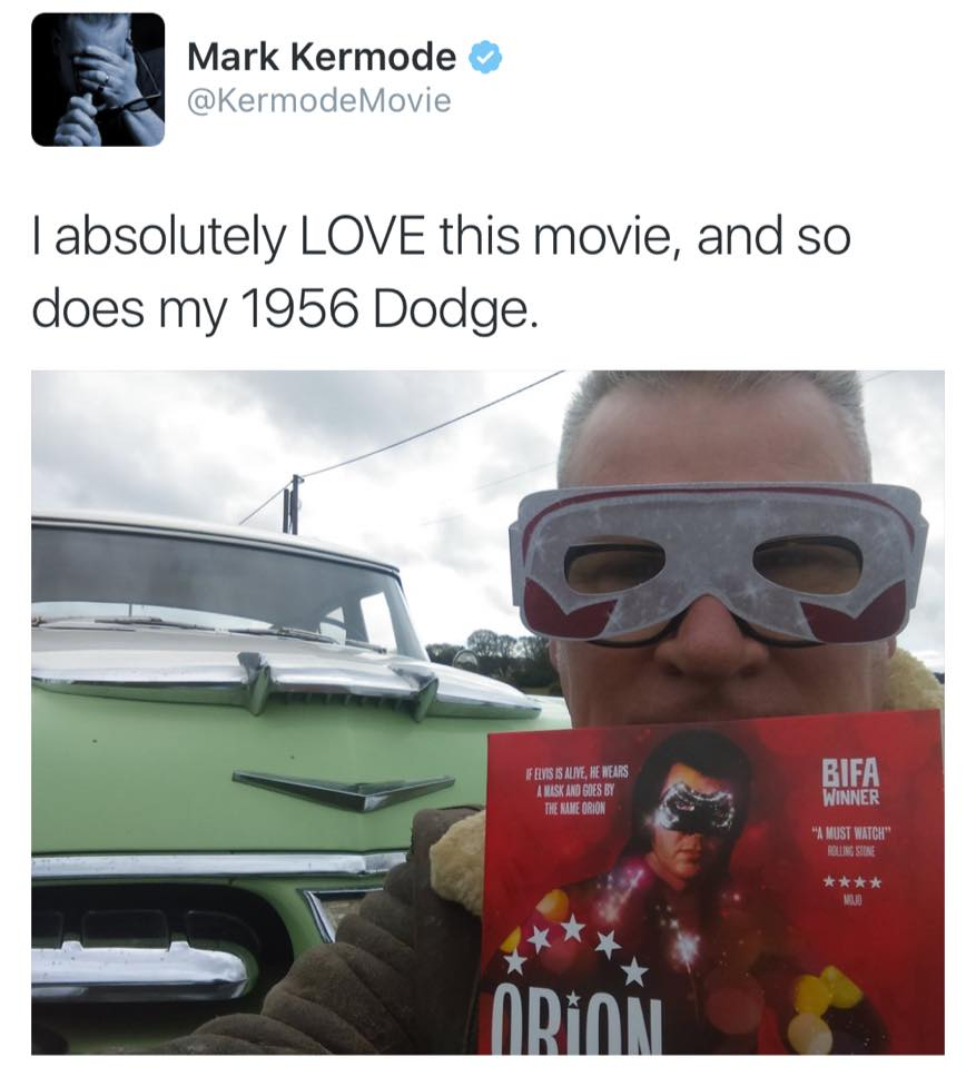 Mark Kermode is Orion
