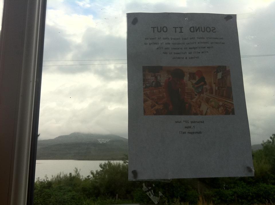 Bring a cushion screening on Isle of Skye