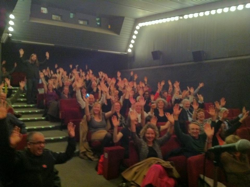 ICA audience, London