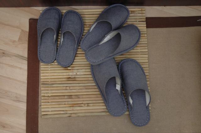Slippers for all vistors