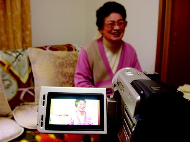 Filming Emi-San