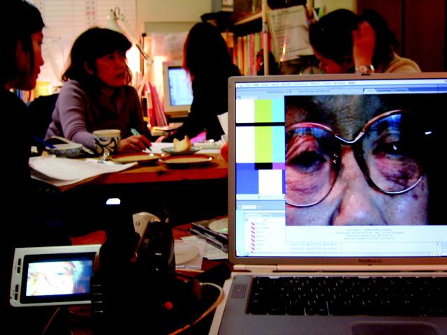 Editing at Muse Company, Tokyo