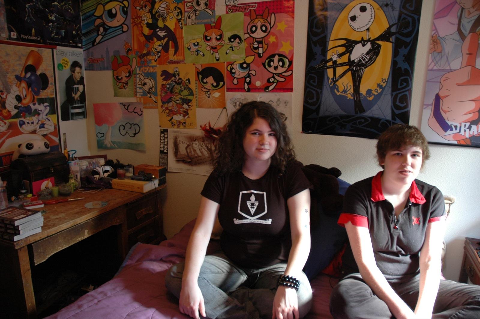 Sean's teenage daughters