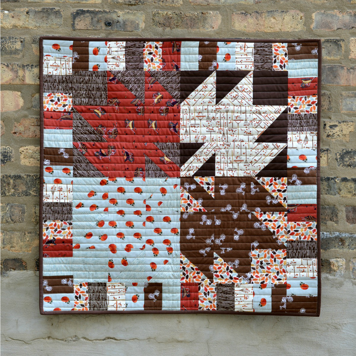 Maple Leaf Mini Quilt -