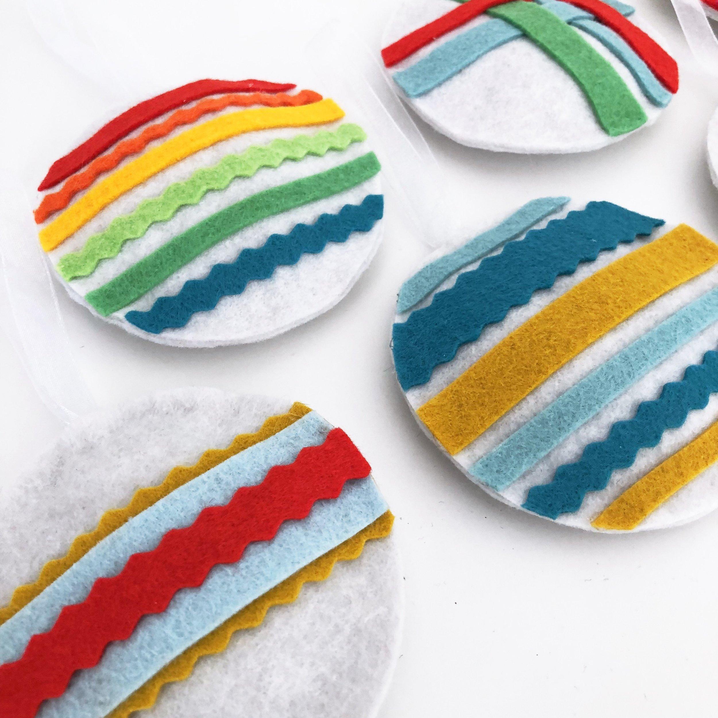 Modern Handcraft Wool Felt Decorations
