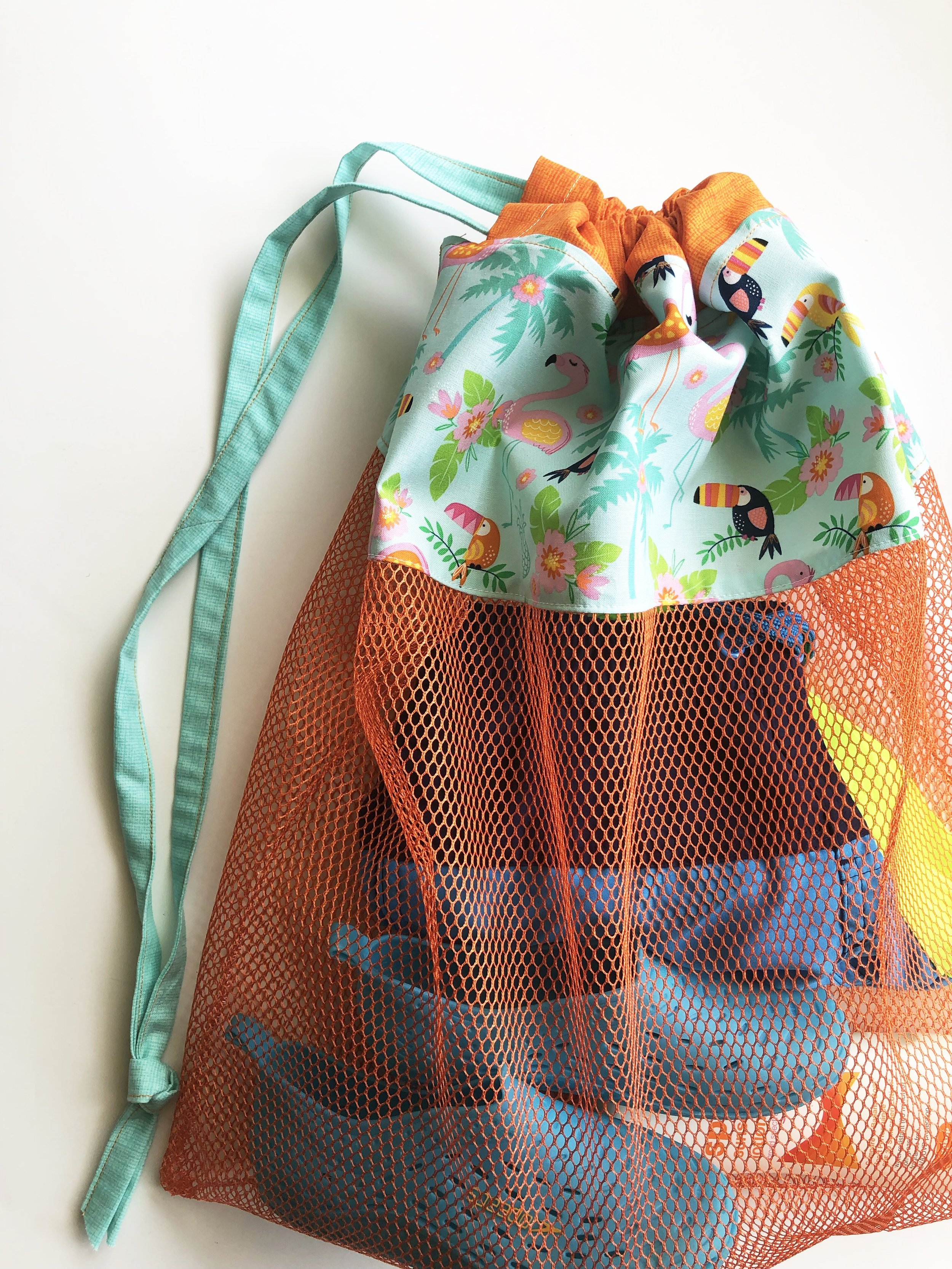 Mesh Beach Bag Tutorial - Modern Handcraft