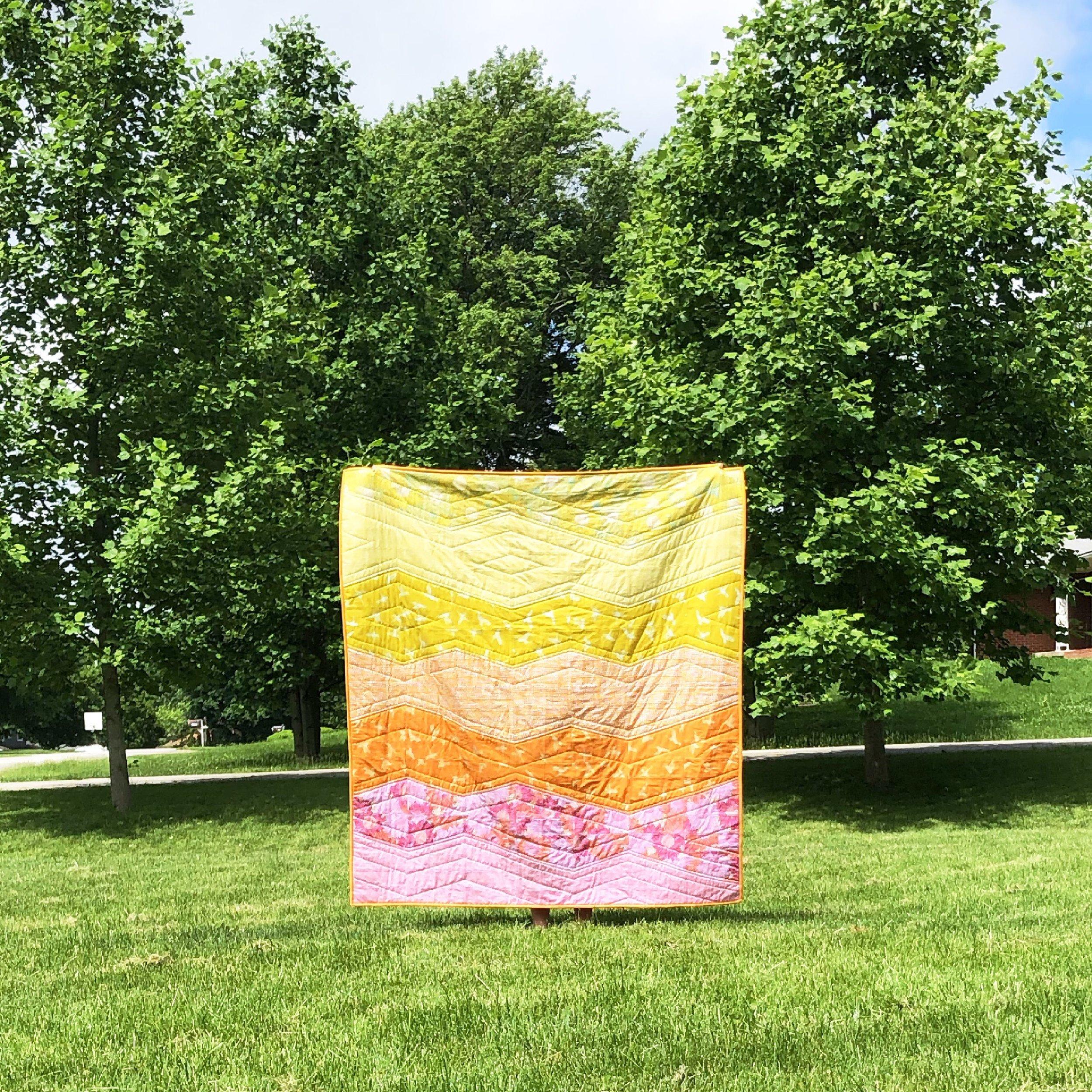 Murmur fabric tour - range quilt Modern Handcraft