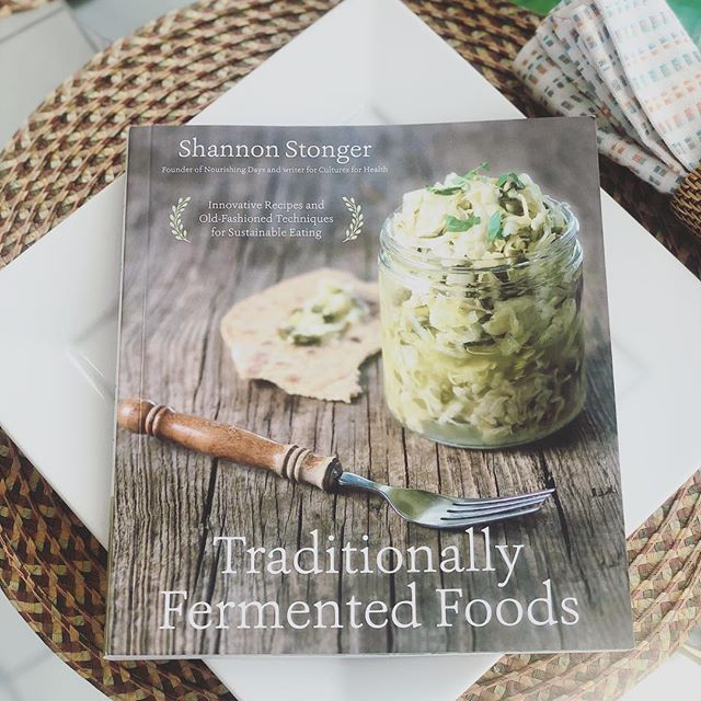 Y'all, I'm REALLY getting into fermenting things. Mostly because I'm learning as much as I can about food preservation without refrigeration. There's been some ups and downs and some food I've killed throughout the learning process 😂 but for the most part, I'm getting better! ⠀ This book is really really helpful and has a ton of delicious recipes that I can't wait to try. ⠀ I'm going to be learning this year also about fishing and acquiring my own sources of meat, so I'll want to learn drying techniques as well, but one thing at a time 😂 ⠀ So far, one of the most delicious things I've made is fermented mashed sweet potatoes 😋 It isn't long-lasting and not meant as a preservation technique (that's what a root cellar is for, lol), but it's just delicious and easier to digest because it's been fermented for a bit. ⠀ If you have any good ferment ideas, send them my way!!!