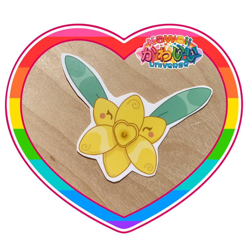 Kawaii Universe - Cute Buttercup Flower Sticker
