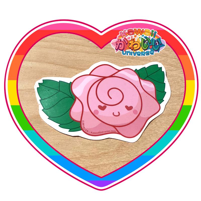 Kawaii Universe - Cute Rose Flower Sticker