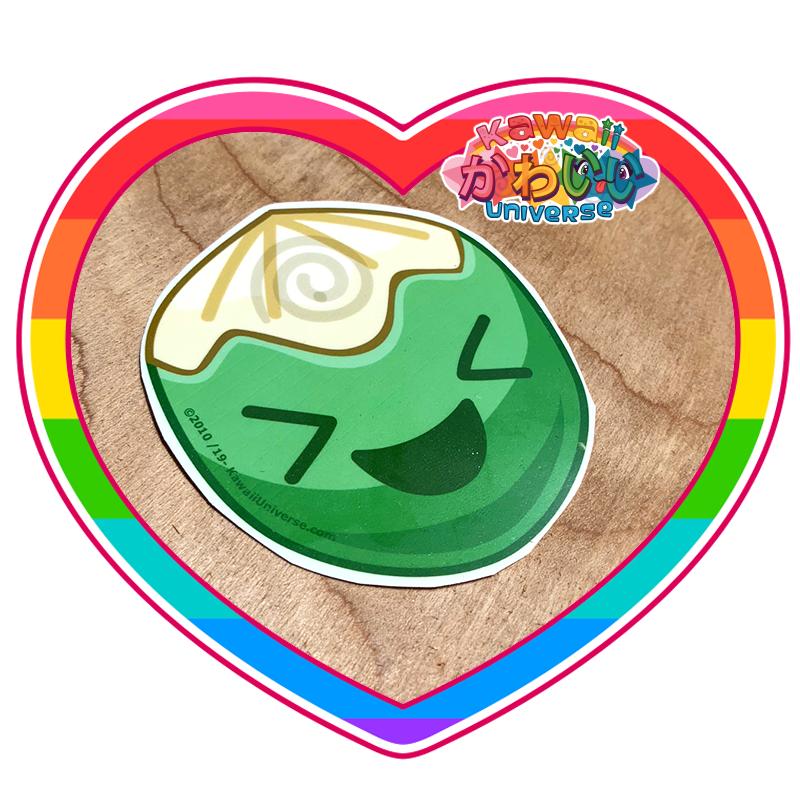 Kawaii Universe - Cute Whole Coconut Sticker