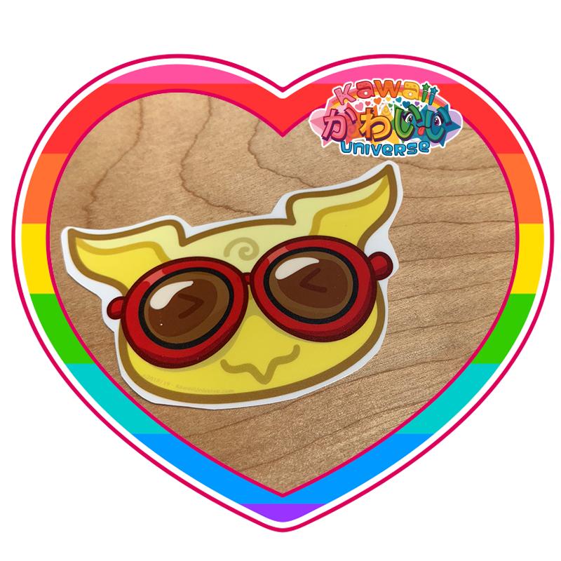 Kawaii Universe - Cute Know It Owl Sticker