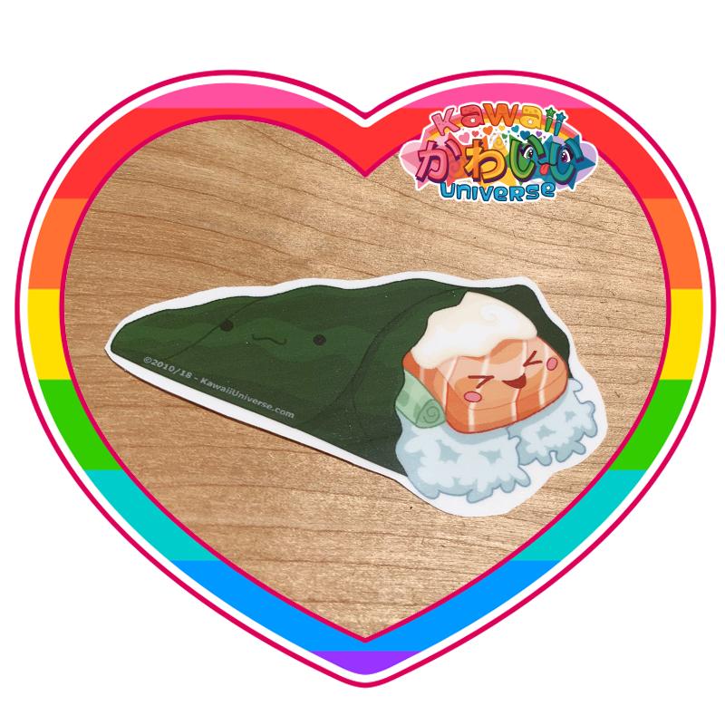 Kawaii Universe - Cute JB Hand Roll Sushi Sticker