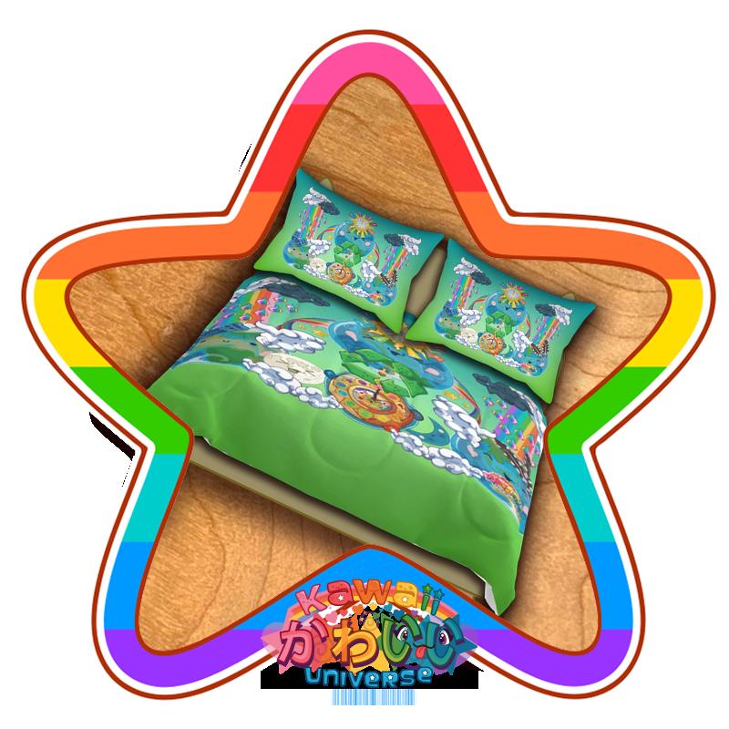 kawaii-universe-cute-world-peace-designer-bed-spread-01.png