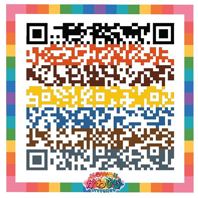 @kawaiiuniverse's new game / app - Kawaii FlutterBug ( scan this qr code to learn more ) #kawaiiflutterbug #flutterbug #womenintech #techwomen #indiegames #kawaii