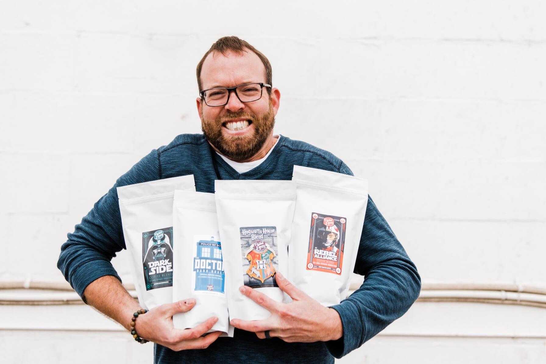 THIS IS CHRIS. - Kitchen dancer. Former K-cup brewer. Obliger. Step dad extraordinaire. Unapologetic hunter. Cries at romantic movies. Dog dad. Best smile. Unreasonably afraid of sharks. Big dork.Mr. Rebel