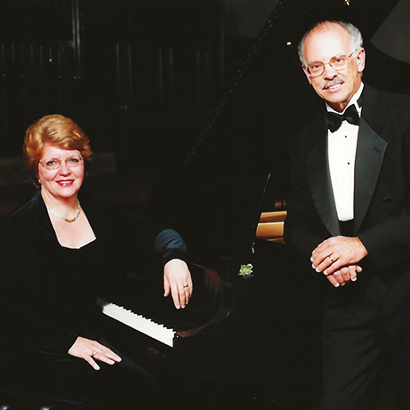 David A. Seitz with his wife Christine.