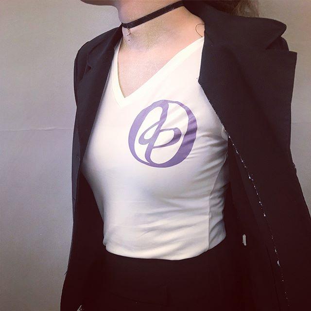 Custom T-shirt with my new personal logo! #illustrator #typography #blackgraphicdesigner #vectordesign #tshirtdesign