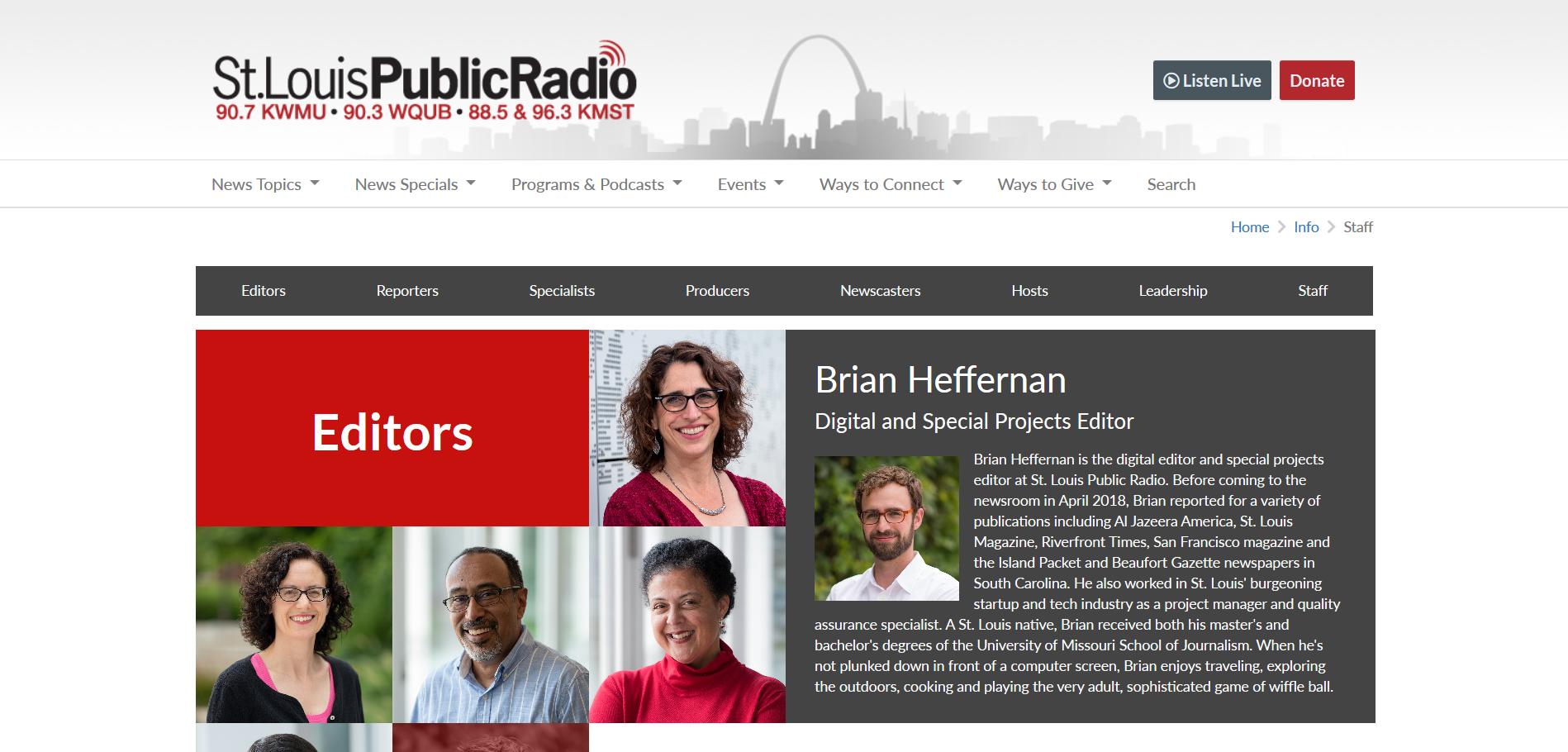 Local NPR Website